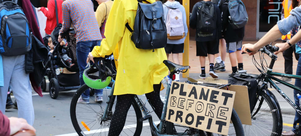Anger at corporations' role in climate change was a feature of the School Strike for Climate marches. Yet seven of our largest manufacturers - and emitters - are pleading for more special treatment. Photo: Lynn Grieveson