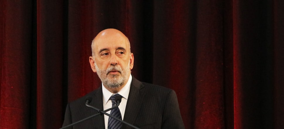 Treasury secretary Gabriel Makhlouf leaves the department at the end of this month to take up the role as governor of the Central Bank of Ireland. Photo: Lynn Grieveson.