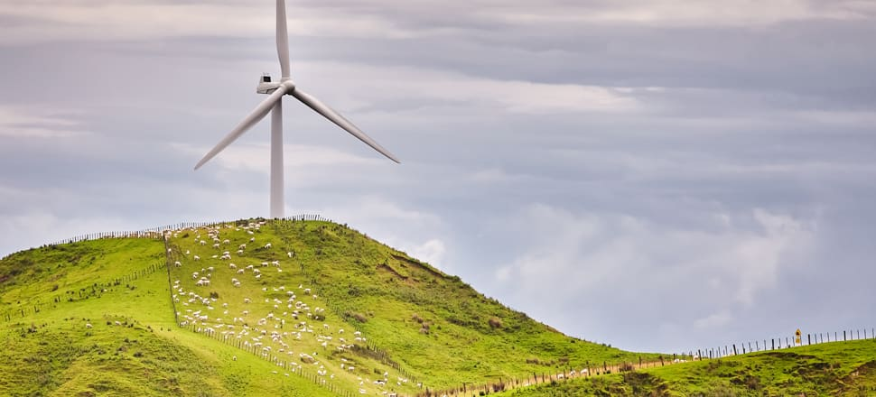 Just five percent of New Zealand's electricity is generated by wind. Photo: Getty Images