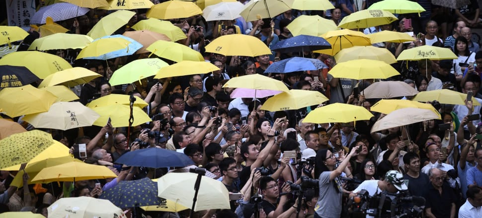 The Chinese NZ Herald is in the spotlight for publishing and then retracting an article about recent protests in Hong Kong. Photo: Getty Images