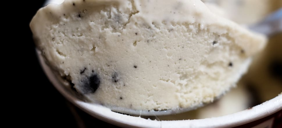 Cookies and Cream ice cream is a much-talked about mystery in Nikki Mandow's house. Photo: Getty Images
