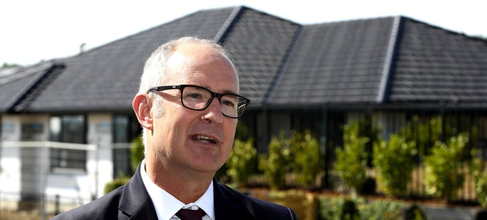 Phil Twyford indicated the Government might be looking at build-to-rent solutions to the housing crisis. Photo: Lynn Grieveson