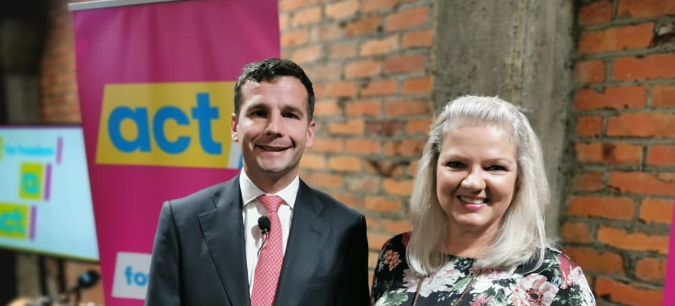 David Seymour has proposed a flat tax of 17.5 percent. Despite looking like a cut, it will raise taxes for the majority of people. Photo: Mark Jennings.