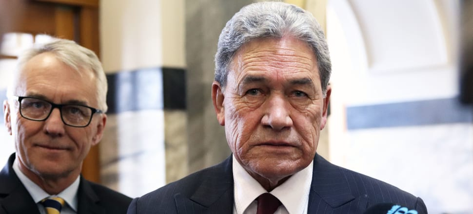 Winston Peters has issued a statement on Hong Kong. Photo: Lynn Grieveson.