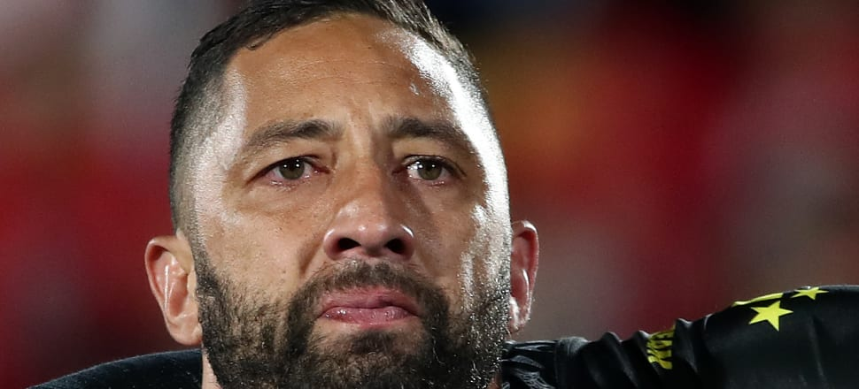 Benji Marshall was moved to tears when making his unlikely return to the Kiwis test side. Photo: Getty Images