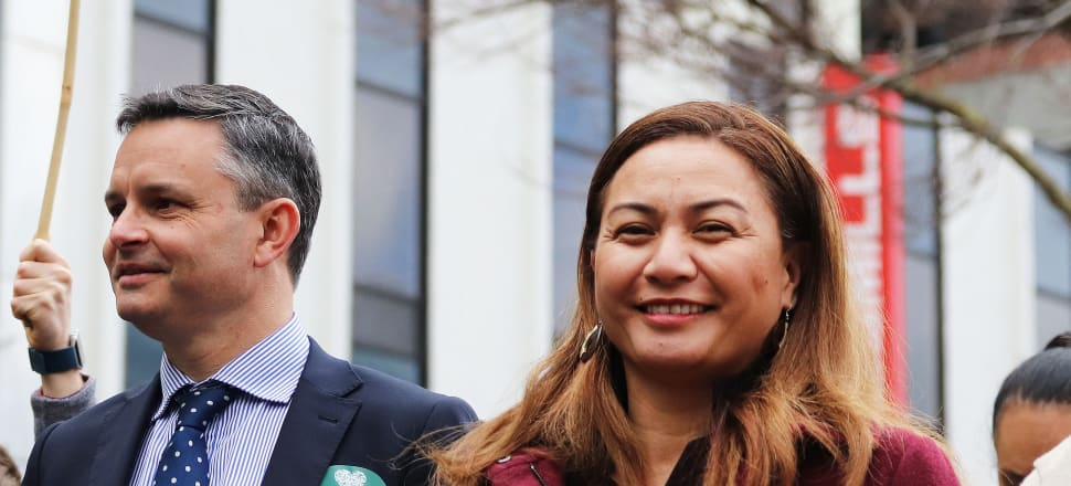 April marks the first anniversary of Marama Davidson's elevation to Green co-leader, alongside James Shaw. Photo: Lynn Grieveson.