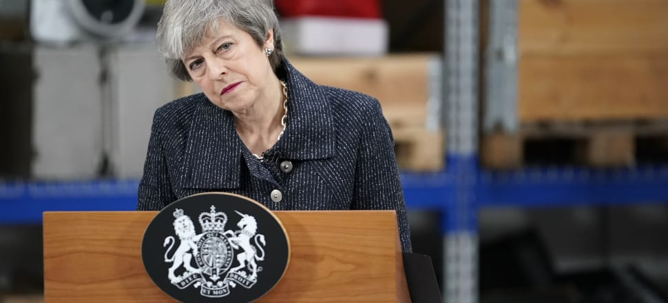 UK Prime Minister Theresa May. Photo: Getty Images