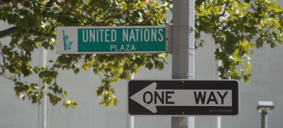 Anti-UN sentiment has come to the fore in recent years. Photo: Sam Sachdeva