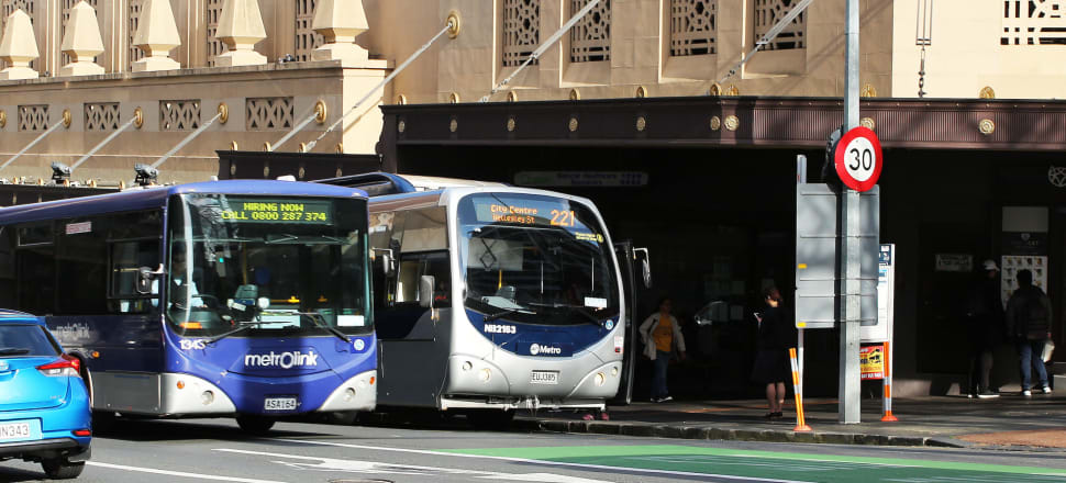 Auckland's regional fuel tax helps fund public transport projects. Photo: Lynn Grieveson