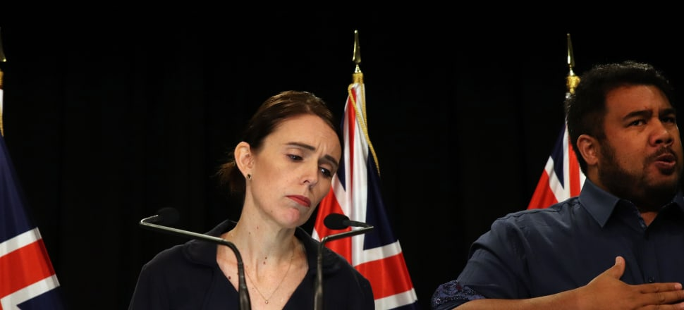 Jacinda Ardern told a news conference she had received a message and condolences from Facebook's chief operating officer. Photo: Lynn Grieveson