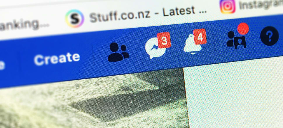 Facebook has been criticised for providing a platform where the Christchurch terror attacker could stream a live video. Photo: Lynn Grieveson