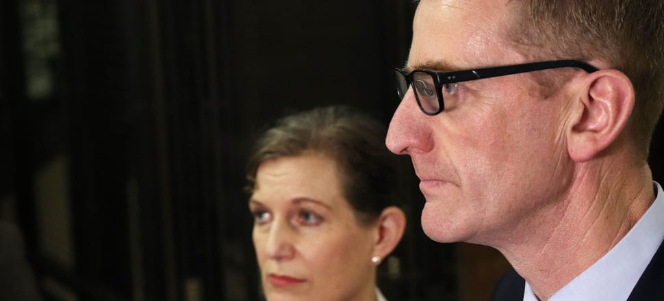 NZSIS boss Rebecca Kitteridge (left) and GCSB boss Andrew Hampton will have to answers questions in the wake of the Christchurch terror attacks. Photo: Lynn Grieveson