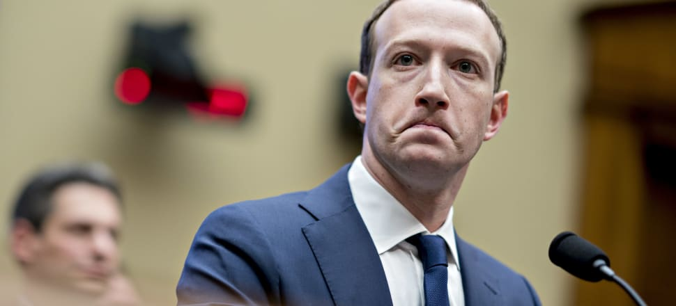 As of Friday, it had been seven days since the murder of 50 people in Christchurch was live-streamed on Facebook and still, we've heard nothing from Mark Zuckerberg. Photo: Getty Images