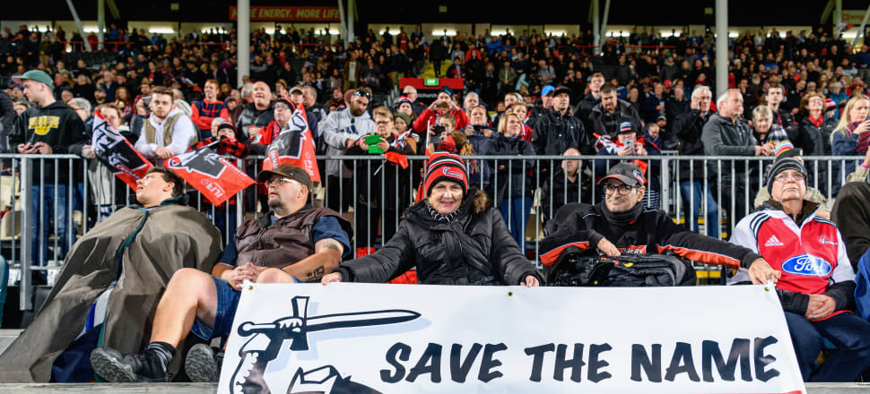 There's a determination in Canterbury to keep the Crusaders name. Photo: Getty Images