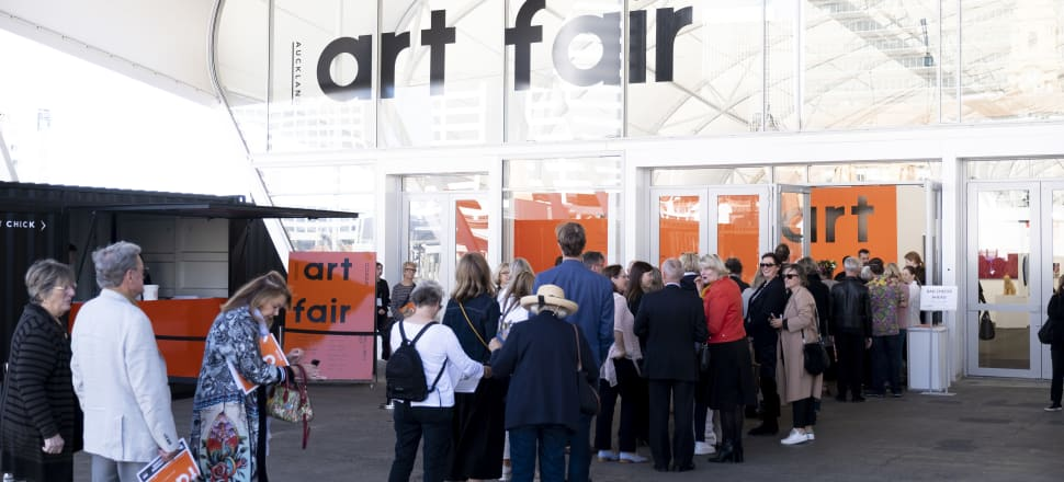 More than 40 galleries from NZ, Australia, China, The Cook Islands, Indonesia and Chile will be vying for the attention in Auckland this week. Photo: Courtesy of Auckland Art Fair