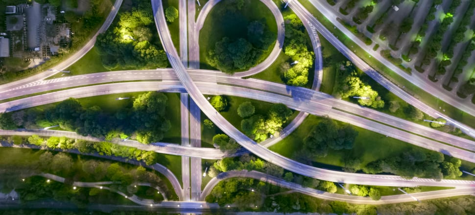 AI can be used to design everything from better traffic flow to buildings that are increasingly sustainable. Photo: Getty Images
