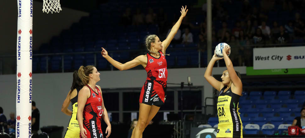 Jane Watson's smart, slick defensive game and her leadership by example for the Tactix this season make her a sure bet for the Silver Ferns side at the World Cup in July. Photo: Michael Bradley Photography.