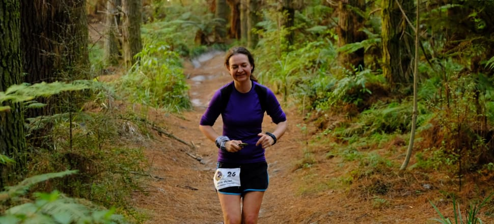 Nelson doctor Katie Wright ran for 30 hours to triumph in the Riverhead Backyard Relaps Ultramarathon - the first woman in the world to win the mentally-brutal elimination race. Photo: Kunal Kumar.