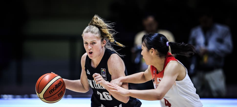 Tayla Dalton (26) in action for New Zealand at the U17 world cup. Photo: supplied