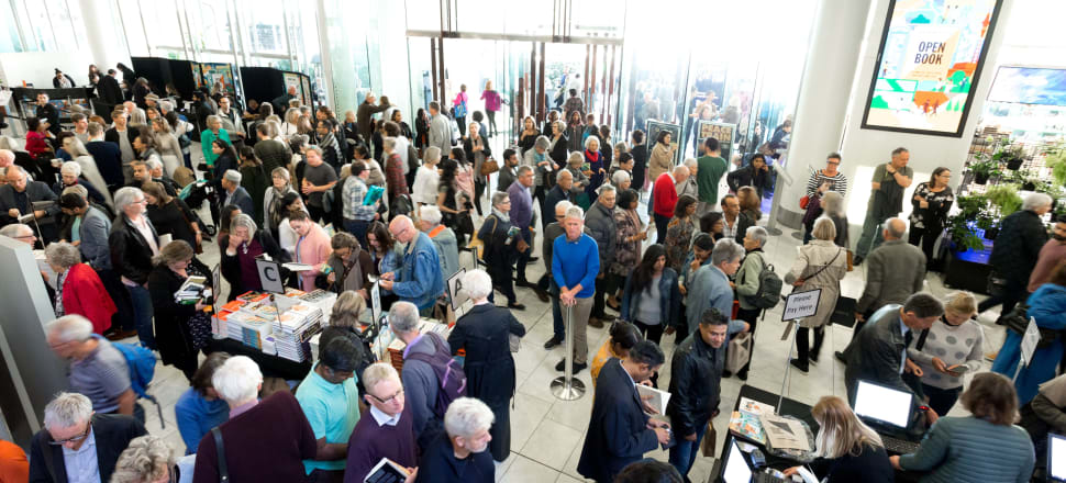 Last year, Writers' Festival fans filled 74,000 seats in Auckland events. Photo: Supplied