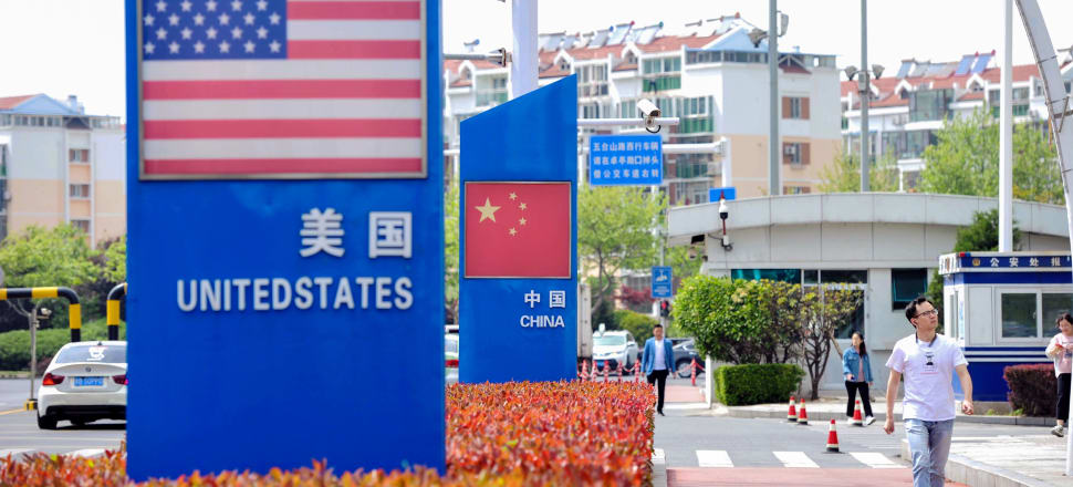 When bluster meets national pride - the US/China trade war is heating up. Photo: Getty Images