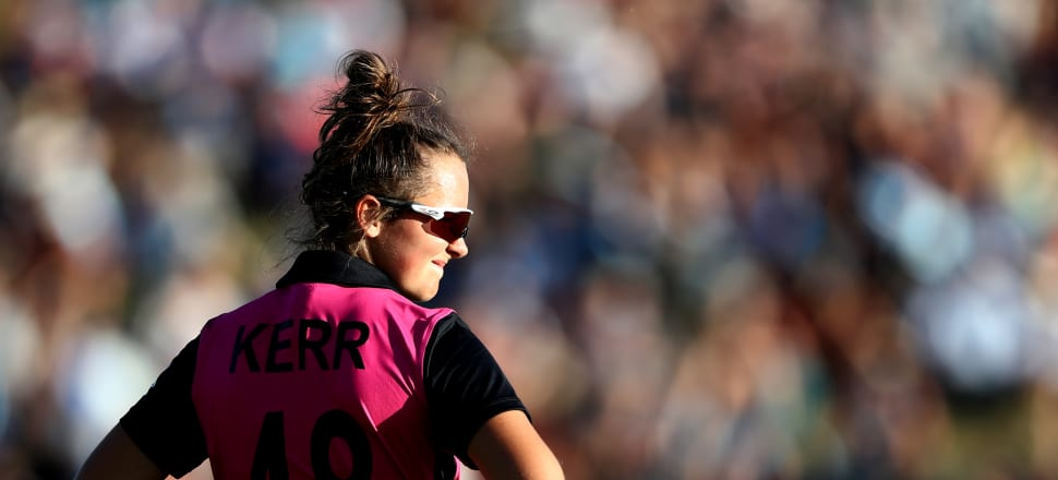 White Ferns all-rounder Amelia Kerr was a star performer in the recent Women's T20 Challenge in India. Photo: Getty Images