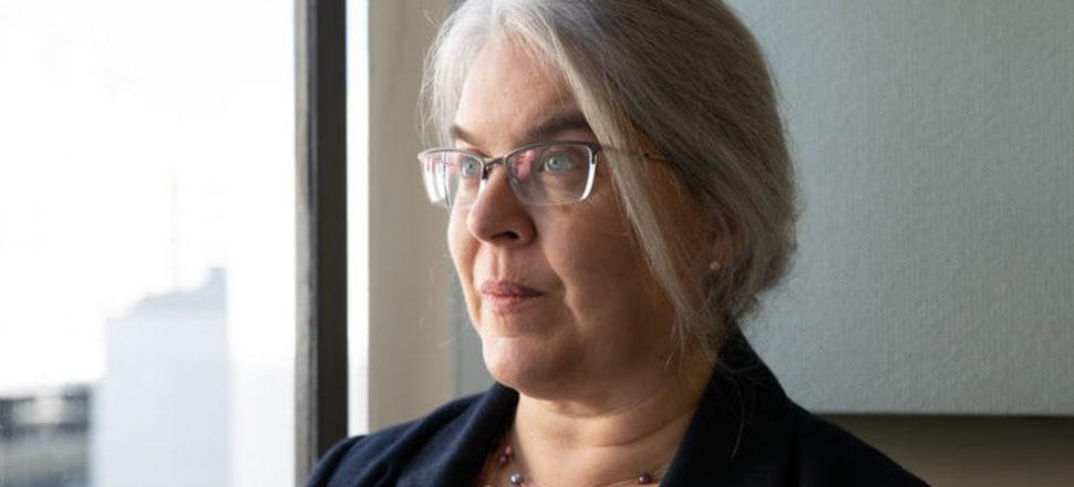 Auckland University associate professor Janet Fanslow. Photo: RNZ/Dan Cook.