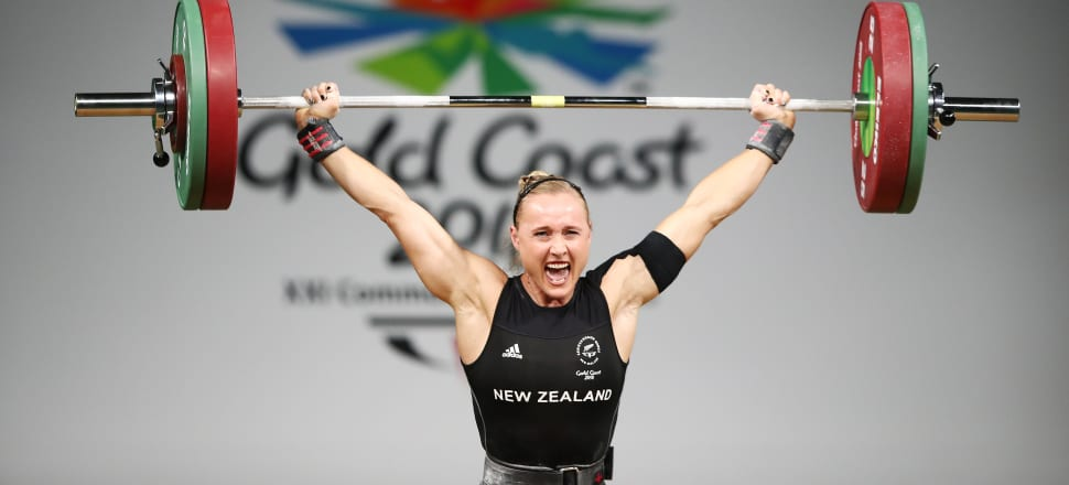 More work must be done in New Zealand to create equal opportunities for girls and women in sport - like Andrea Hams, who competed for New Zealand in both athletics and weightlifting. Photo: Getty Images.