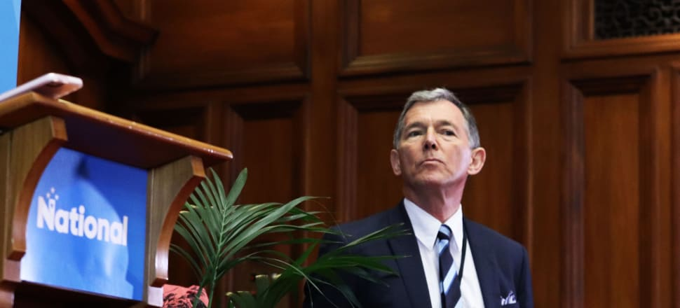 National Party President Peter Goodfellow won't say when the party's review into conduct and culture will be released. Photo: Lynn Grieveson.