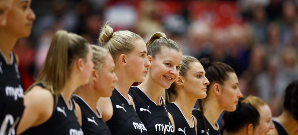 Katrina Rore in happier times... will she make it back into the Silver Ferns for her third World Cup? Either way, she will make headlines. Photo: Getty Images