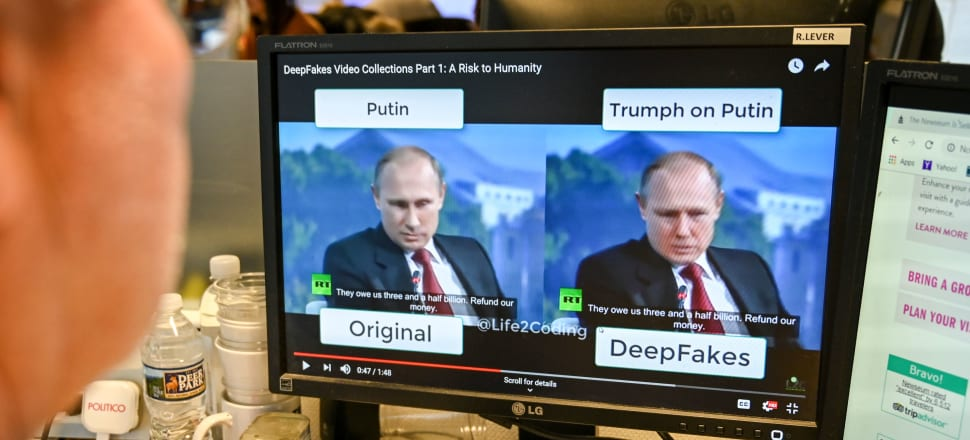Technology used to create 'deepfakes' and other synthetic media are increasingly available to the average person, but the potential impacts on politics and elections can be far-reaching. Photo: Getty Images