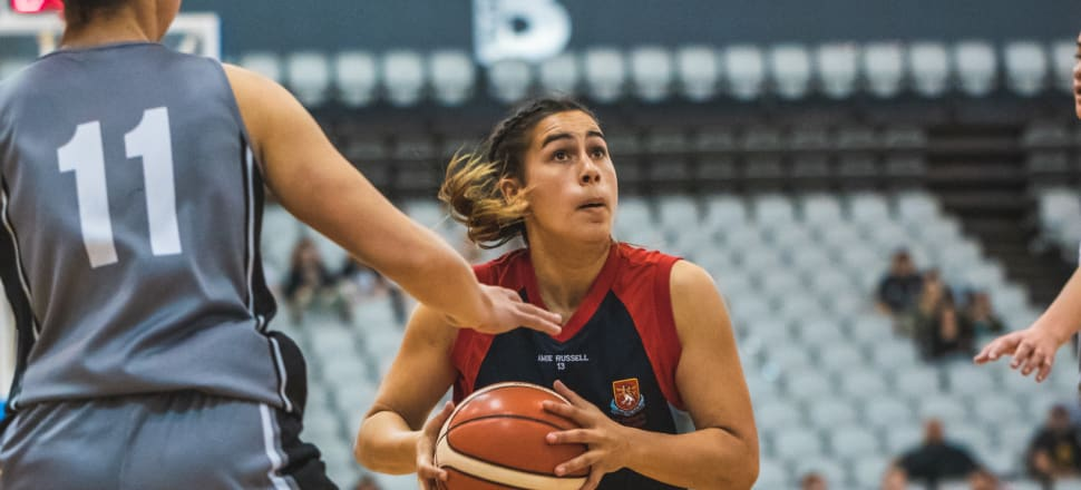 Waiata Jennings helped her St Peter's Cambridge side win the national secondary schools championship title last year, and then finish fifth in the world championships in Greece last month. Photo: Basketball NZ.