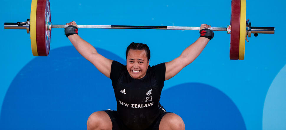 Eighteen-year-old Kanah Andrews-Nahu has lost count of how many weightlifting records she's broken over the last six years, but she continues to raise the bar on her road to the 2020 Tokyo Olympics. Photo: OIS/IOC.