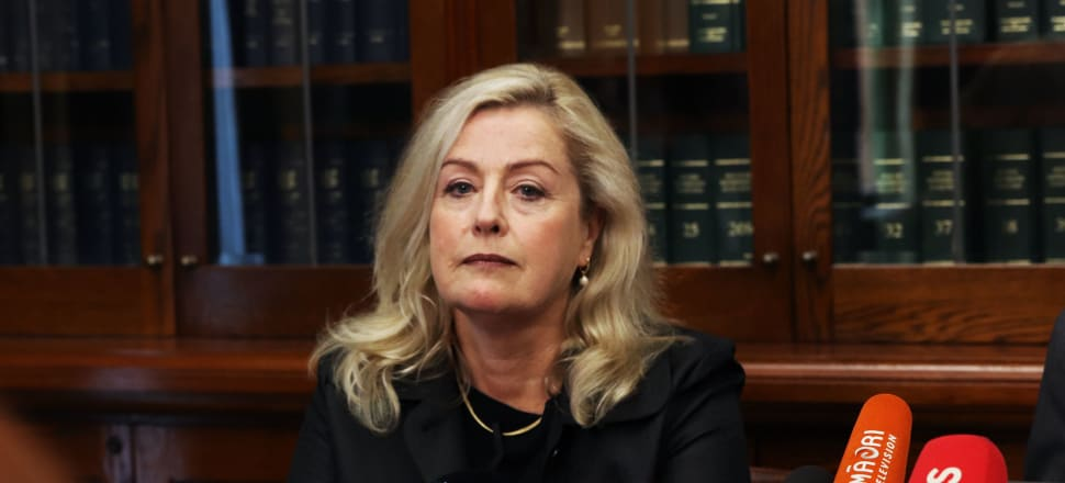 Debbie Francie releases a report into the working environment in Parliament, which it found was rife with bullying and harassment. Photo: Lynn Grieveson