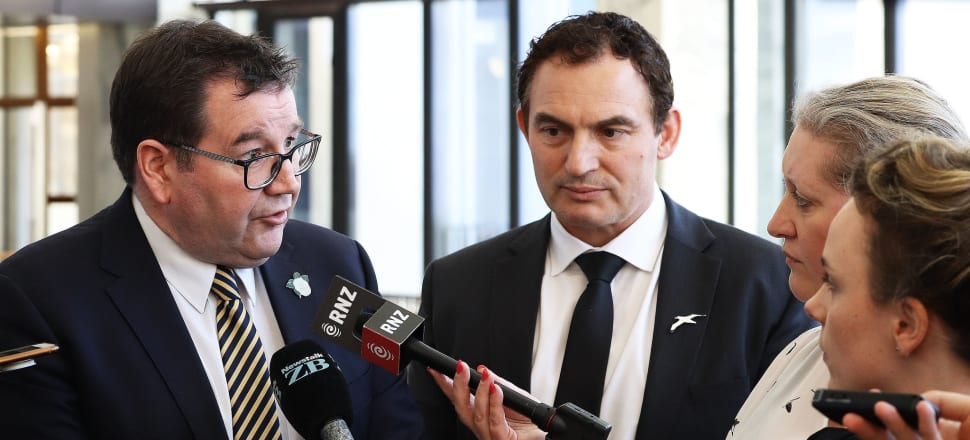 Finance Minister Grant Robertson and Police Minister Stuart Nash have allocated $168m to the gun buyback, as a kind of placeholder. Photo: Lynn Grieveson