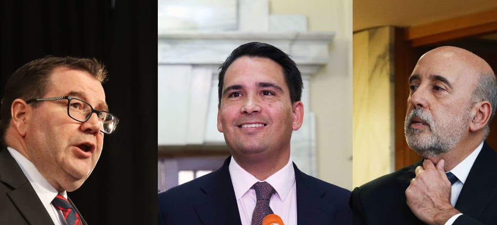Finance Minister Grant Robertson (left) has distanced himself from outgoing Treasury Secretary Gabriel Makhlouf (right) after Treasury prematurely called in the police to investigate how Budget 2019 information ended up being released by National two days early. It turned out National researchers exploited a gap in Treasury's IT defences. National Leader Simon Bridges wanted them to resign. Photo montage: Lynn Grieveson.