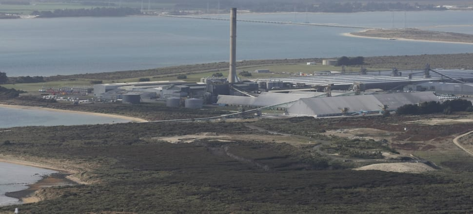 Smelter owner Rio Tinto is reviewing its options, which could include closing it down. Photo: Getty Images