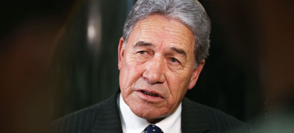"Winston Peters said he paid back ""way less"" than $18,000. The court heard that he repaid $17,936.43. Photo: Getty Images"