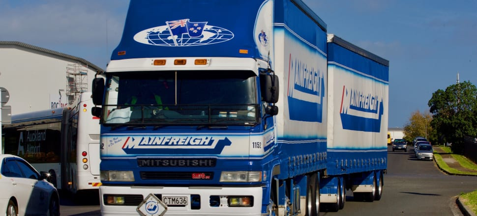 Mainfreight posted a $59.1m net profit for the six months to September. Photo: John Sefton