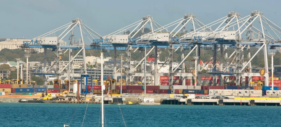 Ports of Auckland. Photo: John Sefton