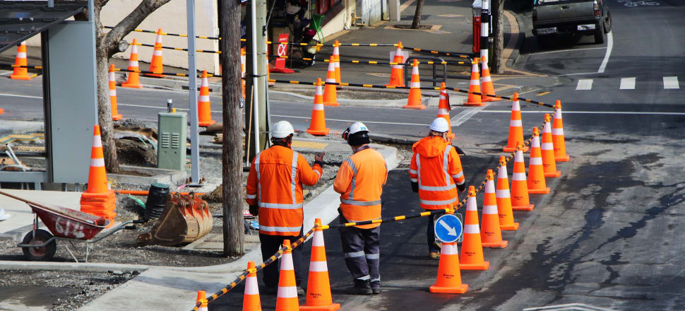 New Zealand's infrastructure consensus at work. Photo: Lynn Grieveson.