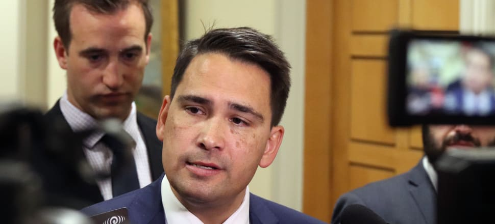 "A single public broadcaster would be ""too powerful"" and ""bad for democracy"", National leader Simon Bridges says, after news of a proposal to replace RNZ and TVNZ. Photo: Lynn Grieveson"