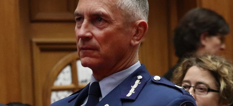 Police commissioner Mike Bush has acknowledged institutional racism within the force. Photo: Lynn Grieveson