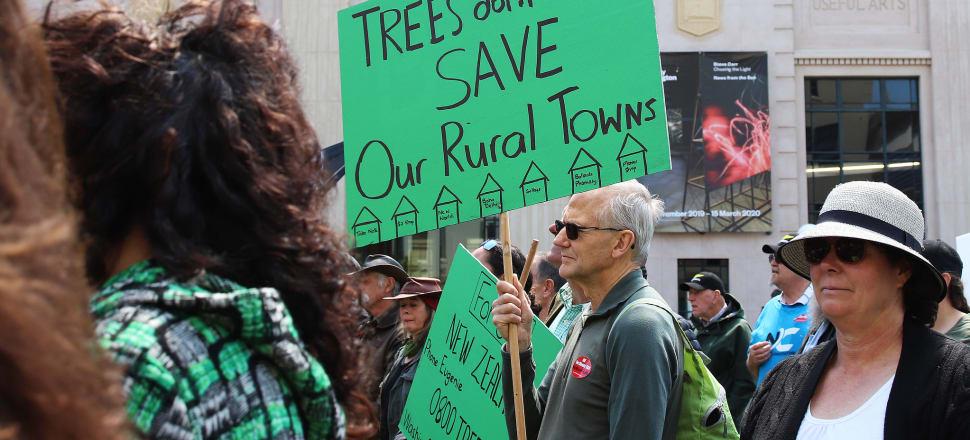 Shane Jones calls protesting farmers 'rednecks' following rowdy march on Parliament. Photo: Lynn Grieveson.