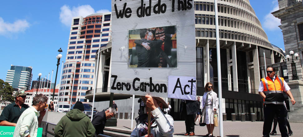 Although National voted for the Zero Carbon Bill it pledged to substantially change the legislation within 100 days of it next forming a government. Photo: Lynn Grieveson