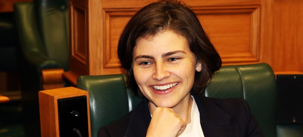 25 year old MP Chloe Swarbrick has drawn attention to the legacy so-called Boomers are leaving her generation. Photo: Lynn Greiveson