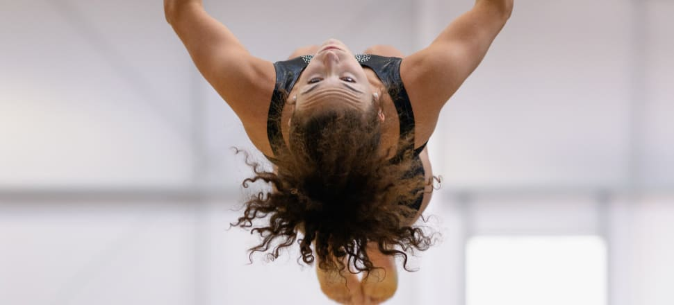 New Zealand artistic gymnast Courtney McGregor, who competed at the 2016 Rio Olympics, may inspire more young Kiwi girls through new viewing platform Sky Sport Next. Photo: Getty Images.