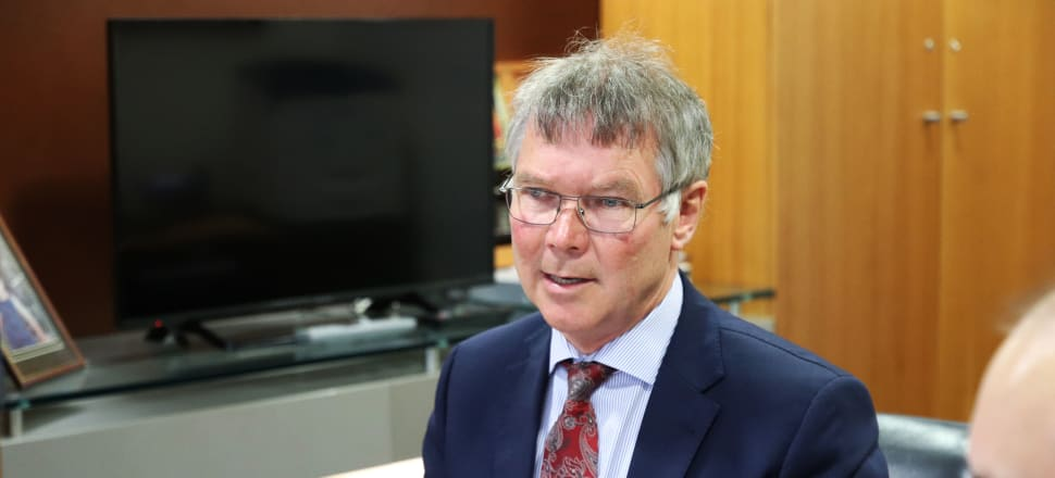 David Parker says changes are needed to prevent monopoly assets falling into foreign hands. Photo: Lynn Grieveson