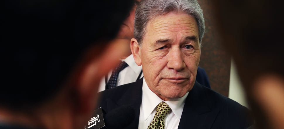 Not for the first time, Winston Peters finds himself under pressure to reveal the source of his party's funds. Photo: Lynn Grieveson