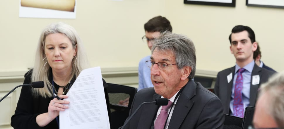 Boshier and MPs alike raised questions about the entire structure for oversight and transparency in local government. Photo: Lynn Grieveson